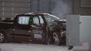 副驾驶侧碰撞安全测试,雪佛兰索罗德