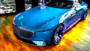 35% 全新迈巴赫6纯电概念车实拍 外观像游艇