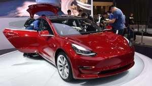 Model 3国产版开订,续航460km、32.8万起售