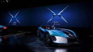 DS 携新能源家族E-TENSE的四款新车震撼亮相