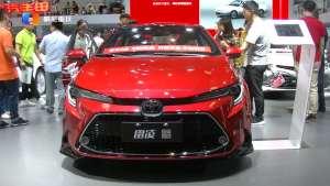 TNGA架构的首款中级车全新换代雷凌重庆车展上市