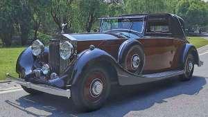 """老车重生记:移动的""""皇宫"""",1935年劳斯莱斯幻影II"""