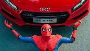 蜘蛛侠强势回归,这次奥迪又赞助了多少钱?
