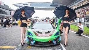 2019 中国超级跑车锦标赛 GT4组 Grid work