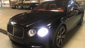 宾利飞驰V8S现车最低报价 18款飞驰V8S港口最新价格