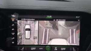 19款大众途锐升级环视360全景影像展示大众强大的功能