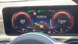 19款奔驰A200升级智能驾驶23P高速路试智能领航转向