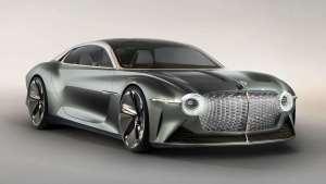 #百字评车# 宾利EXP 100 GT概念车 百年华诞的献礼