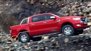 福特Ranger拖拽力测试