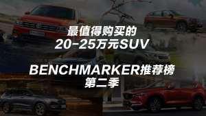 20~25万最值得购买的SUV丨Benchmarker推荐榜·第二季