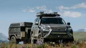 #百字评车# 雷克萨斯 GX OR概念车 普拉多的改装范本