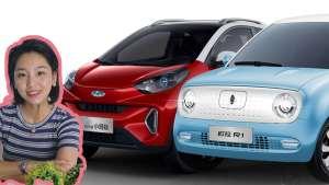 长城欧拉R1和奇瑞EQ1,7万买了不后悔的微型电动车