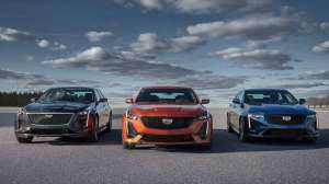 凯迪拉克全新运动轿车CT4实车亮相,换装8AT自动变速箱
