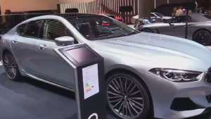 法兰克福车展2020款宝马8系M850i xDrive