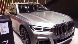 法兰克福车展的精彩,一起看看2019款宝马7系M760 Li V12 xDrive1
