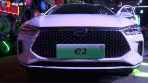 新一代智感电动跨界车比亚迪e2重庆上市