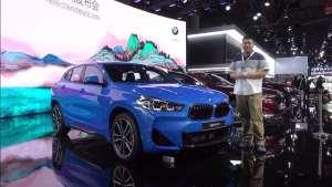 注重个性的轿跑SUV 国产后售价更低 宝马X2成都车展体验