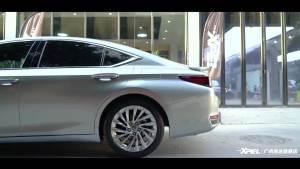 雷克萨斯ES300h 施工XPEL隐形车衣案例分享