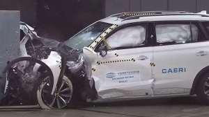 国产黑马,荣威RX5 MAX碰撞成绩快来看看!