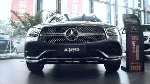 车视探店|气质优雅的奔驰GLC,售价39.28-58.78万
