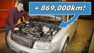 80万公里的A4还能用吗?