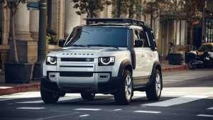 2020 Land Rover Defender路虎新一代卫士内饰细节功能展示