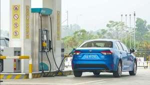 折合每公里油费0.32元,测试雷凌双擎高速油耗