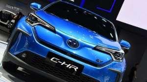 电动GO | 广汽丰田纯电量产车型C-HR EV将于今年4月在国内上市
