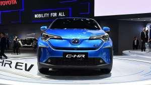 新能源外观 更浓的机架范儿 广汽丰田C-HR EV将4月中旬上市