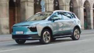 爱驰汽车携欧版U5及U6 ion造型预览 入驻欧洲市场