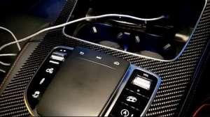 奔驰AMG E53内饰实拍:可以操控的ipad是什么体验