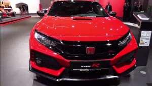 2020款(HONDA)全新本田思域Type R ,红标机头就是猛