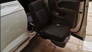 改装福祉车福祉升降旋转座椅视频展示