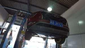 北京现代新一代IX25底盘解析实况-0991车评中心