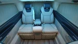 奔驰v260 改装商务车:国六标准,这豪华程度,还选埃尔法??!