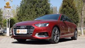 新款奥迪A4L致雅版本 横幅格还有低重心 告诉你啥叫豪华车的姿态