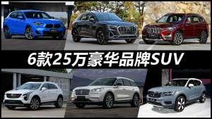 奥迪Q3、宝马X1领衔,这6款豪华品牌SUV优惠后25万就能买