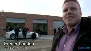 北欧绅士  萨博9-3 tta赛车专业测试