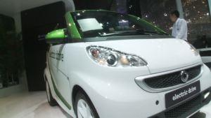 2012北京车展 smart electric drive