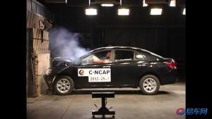 众泰Z300 C-NCAP碰撞测试荣获五星