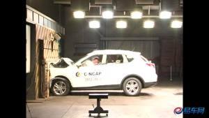 传祺GS5 C-NCAP碰撞测试荣获五星