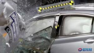 安全评测 2012款讴歌TL碰撞测试