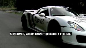 保时捷918 Spyder 纽博格林赛道测试
