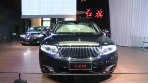 2012广州车展 红旗H7敢与A6叫板