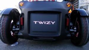 明星气场 雷诺Twizy广告录制过程
