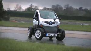 微型车也玩漂移 雷诺全新Twizy秀车技