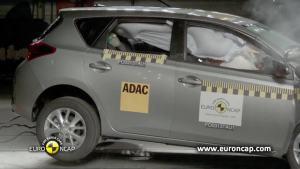 丰田新一代Auris E-NCAP碰撞测试