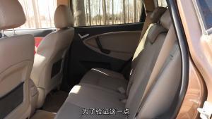 易车体验 试驾吉利全球鹰GX7空间篇