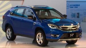 2014北京车展 高科技SUV比亚迪S7