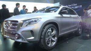 2013上海车展 未来并不遥远全新奔驰GLA